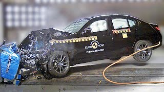 BMW 3 Series (2019) CRASH TEST - German Quality???