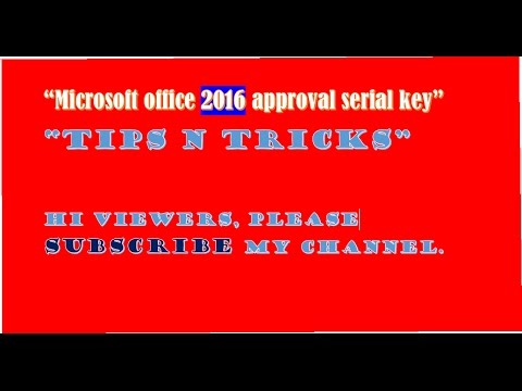 Microsoft Office 2016 Full Download Activation For Free