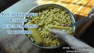 кукуруза для салатов, почти как консервированная кукуруза в банках из магазинов