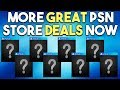 More PSN Store Deals Live Right Now and Major PS4 Game Leaked?!