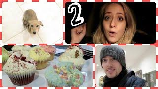 Cupcakes, Santa & GETTING RESCUED! Vlogmas 2