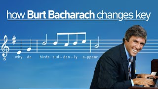 Burt Bacharach's Clever Key Changes