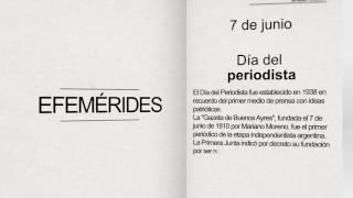 Dia del Periodista en Argentina