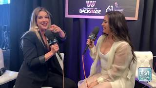 Lauren Jauregui Talks To Kristin Klingshirn at The GRAMMYs Radio Row