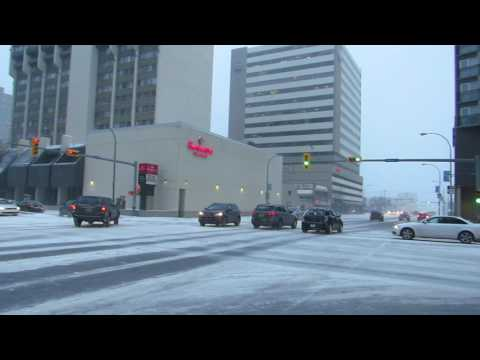 Winter Storming In Regina This Morning - March 7, 2017