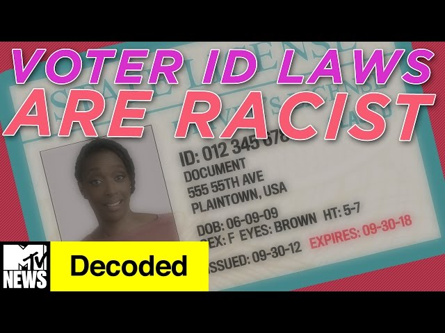How Voter ID Laws Explain Structural Racism | Decoded | MTV News