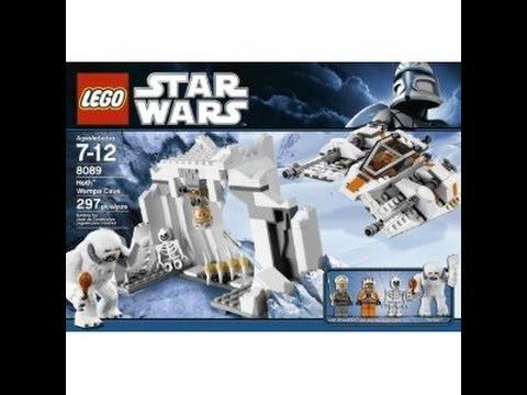 hoth scene lego star wars set (8089) - youtube