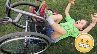 Wheelchair Skills Challenge | Testing the Kids