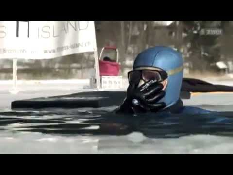 Freediving - World Rekord under Ice - Peter Colat - 150m - Guinness World Rekord