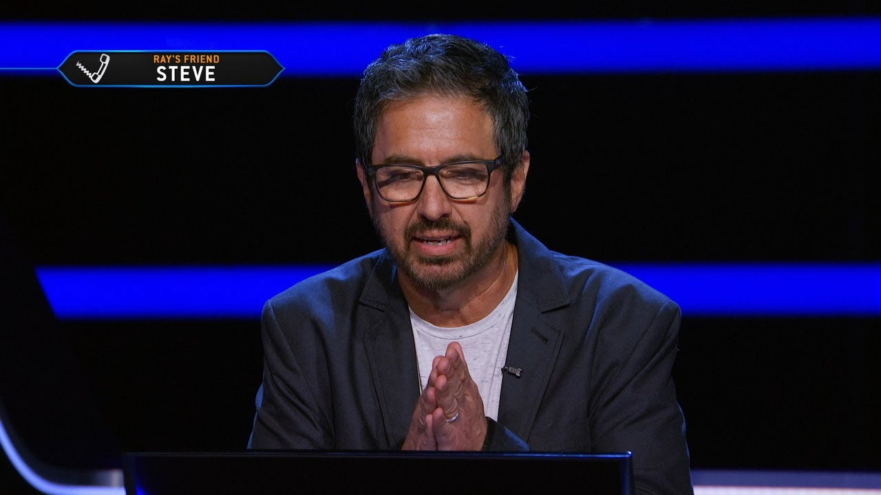 Ray Romano Flips a Coin on a $250,000 Question - Who Wants To Be A Millionaire