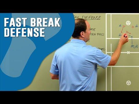 Lacrosse Fast Break Defense