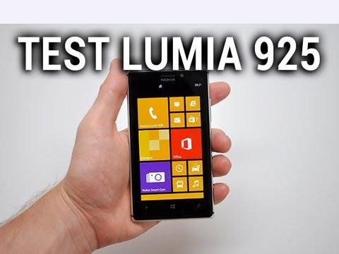 Test du Nokia Lumia 925 - par Test-Mobile.fr