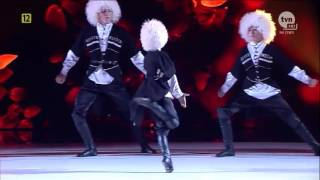 Чеченский ансамбль ЛОВЗАР   танец РИТМЫ КАВКАЗА