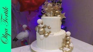 ТОРТ ДЛЯ СЕСТРЫ Шоколадный мусс для торта РЕЦЕПТ Сборка и украшение торта