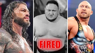 WWE BLACK DAY - 10 Superstars FIRED.... Roman Reigns Big Universal Title Plans, Ryback RETURN