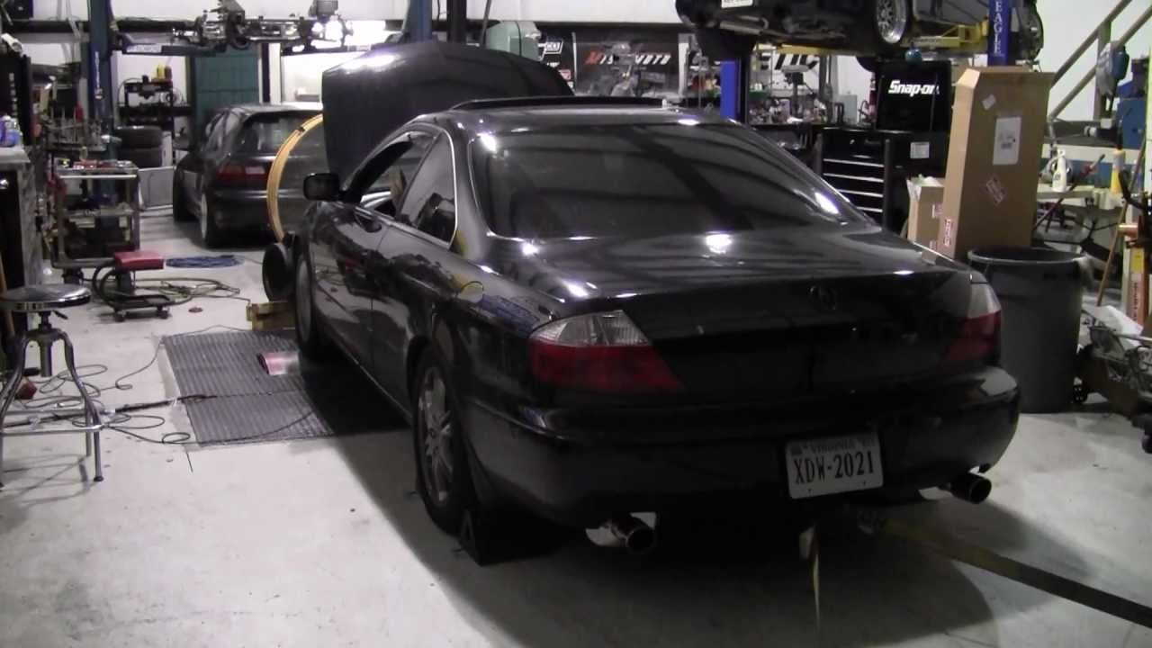 Acura CL Type S Speed Custom Exhaust After Dyno Pull YouTube - Acura cl type s performance parts