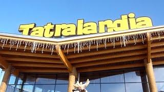 Tatralandia ZIMA spacer po Aquaparku podgląd na ceny i atrakcje