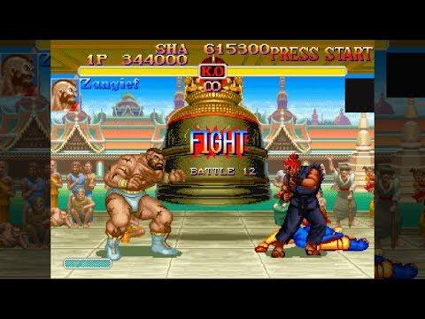 ザンギエフで豪鬼戰へ - SUPER STREET FIGHTER II X for SS/PS