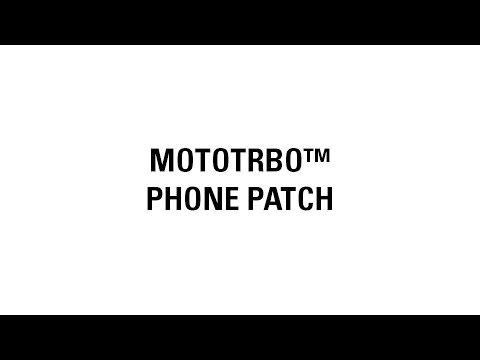 MOTOTRBO: Repeater Phone