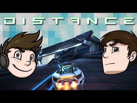 Distance - Velocidad cyberpunky