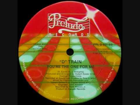 D TRAIN. You're The One For Me. 1982. Shep Pettibone 12 Remix.