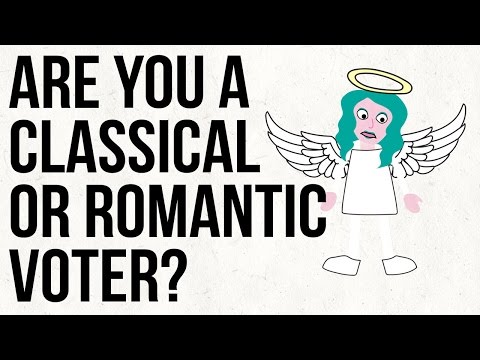 Video image: Are You A Classical Or Romantic Voter?