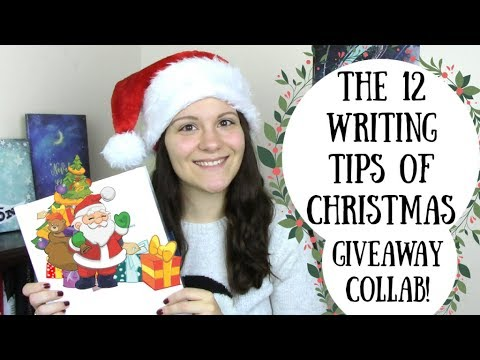 The 12 Writing Tips of Christmas (Author Collab + Huge Giveaway!)