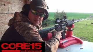 CORE 15 M4 Scout Government Profile AR-15 Rifle Review (HD)
