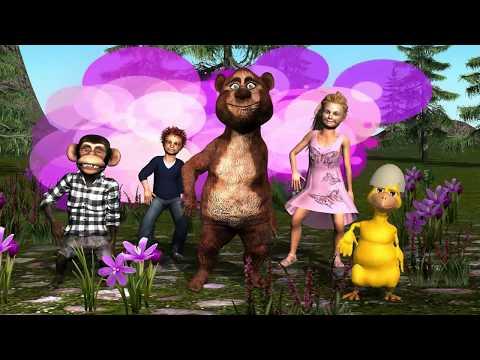 FLOOR IS LAVA CHALLENGE! Family Fun Kids Cartoon Playtime Smiley Bear TV
