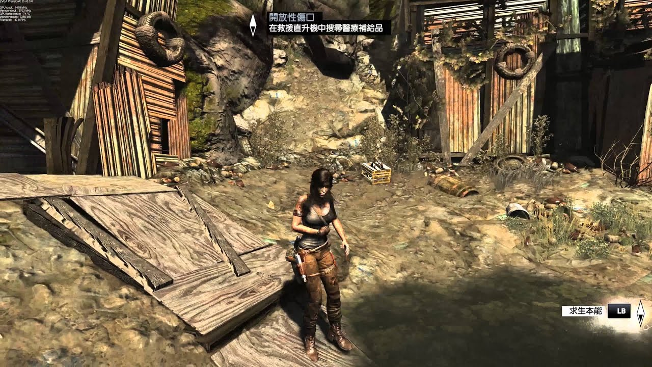 4k Tomb Raider 2013 Gameplay 19 Gtx 980 Ti Max Settings Youtube