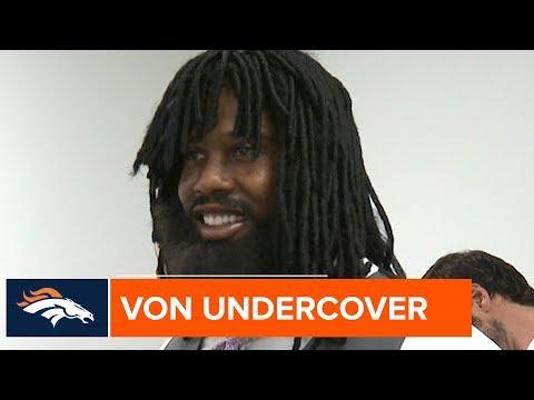 Prankster Von Miller Goes Undercover as a Waiter at Denver Restaurant 😂  | Denver Broncos