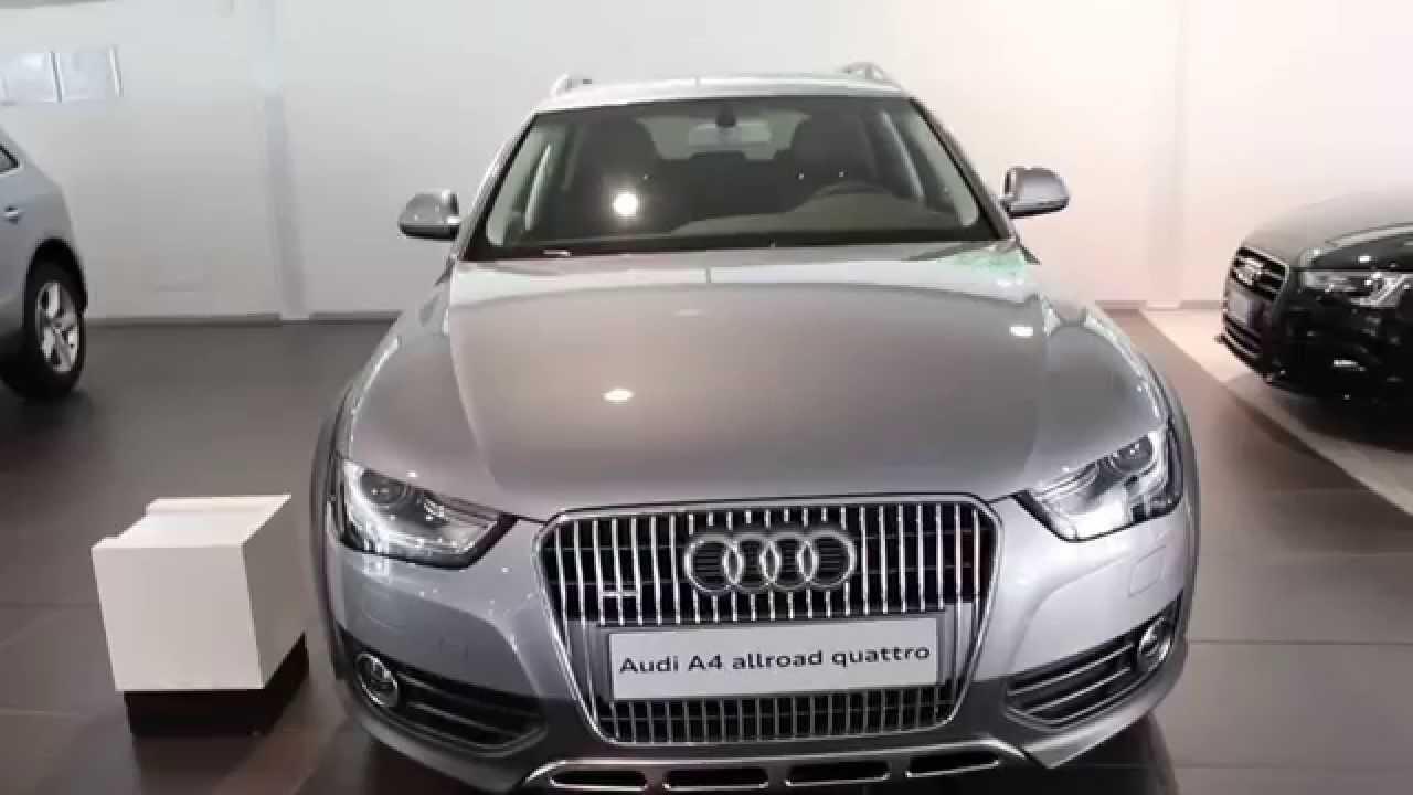 Audi A4 Allroad Quattro 2.0 Tdi S-Tronic 190 Cv - YouTube