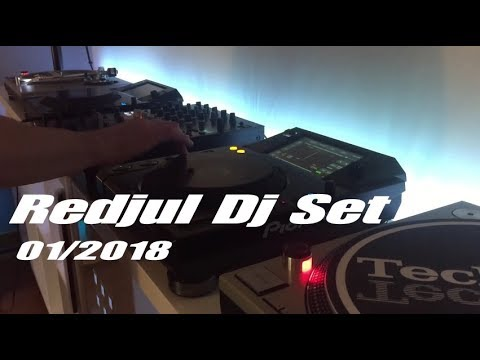 Redjul Dj Set # Andre Butano / Raw District / D-Nox / Anna / Tigerskin / Dubfire & Huntemann [2018]