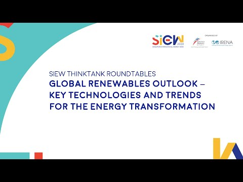 SIEW 2020: Thinktank - International Renewable Energy Agency
