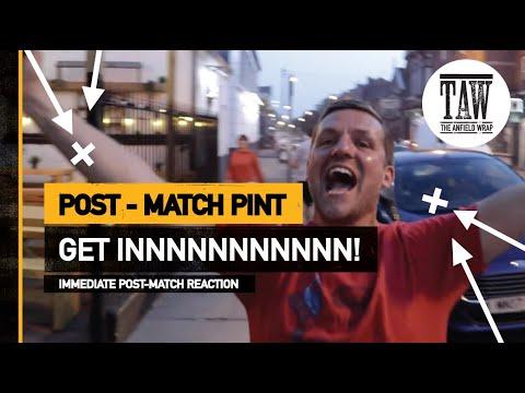 GET INNNNNNNNN  The Post-Match Pint