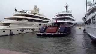 Yacht Nirvana / amarrage Port Antibes