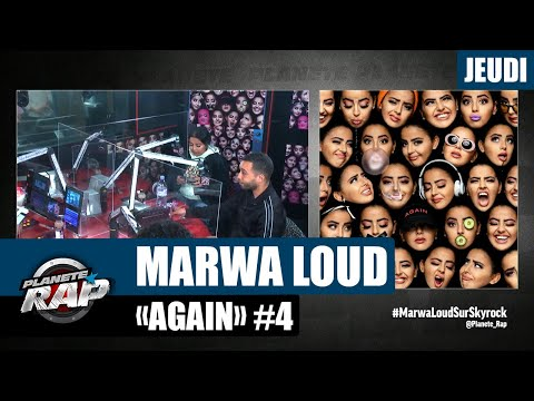 Youtube: Planète Rap – Marwa Loud«Again» avec Mister You, ISK et Fred Musa #Jeudi
