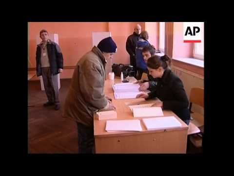 Voters cast ballots in three different polls