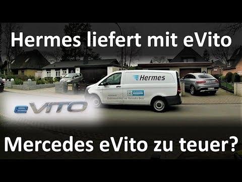 Hermes In Hamburg Mit EVito Von Mercedes Unterwegs – Bei Dem Preis Doch Lieber Nissan E-NV200?