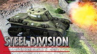 101st Airborne! Steel Division: Normandy 44 Gameplay #2 (Merderet, 3v3)