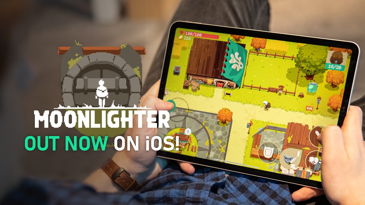 Moonlighter is out now on iOS!   Official iOS Launch Trailer
