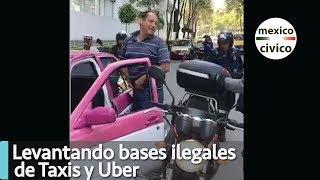Levantando bases ilegales de Taxis y Uber de Lago Zurich