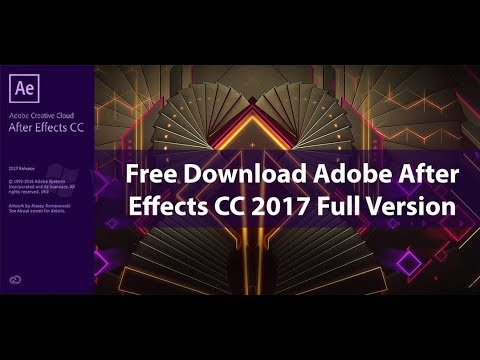 adobe after effects 2017 free download full version