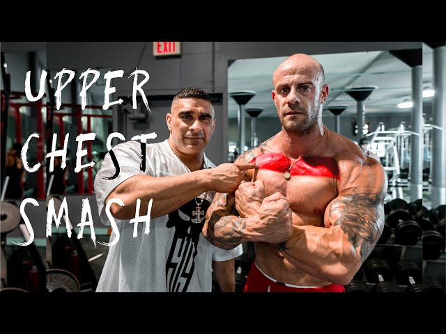 Top Shelf Building! Upper Pec Smash w/ Ryan Cullenward