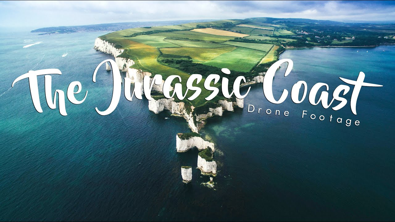 The Jurassic Coast Drone Footage Youtube