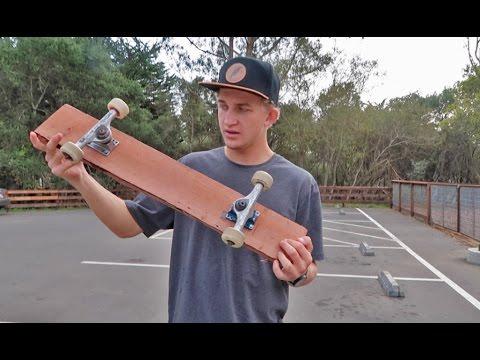 The Cheapest DIY Skateboard Ever! | Garrett Ginner