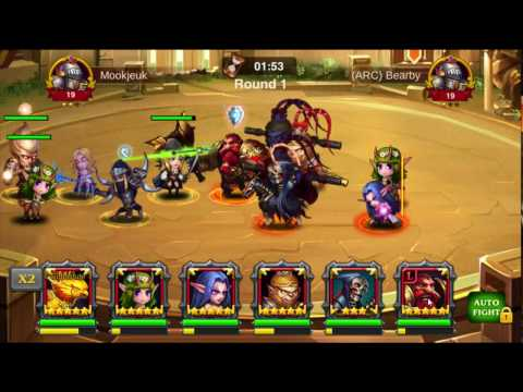 Best 2 Heroes For War Of Gods Heroes Charge