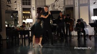 Александр Якушев и Анна Смирнова, оркест...