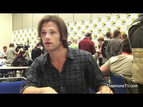 Jared Padalecki Supernatural Comic-Con 2011 Interview