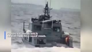 Philippine Navy Tests Spike-ER Missile System